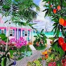 island artist eileen seitz paints the tropics island runaways