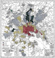 Baltimore City Council District Map A Tale Of Two Cities