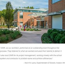 high school project hudson schools omr architects com portfolio public schools quinn middle school