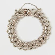 double heart charm bracelet images 659 best charms vintage silver images bracelet jpg