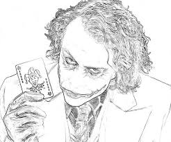 batman arkham joker coloring pages crafts