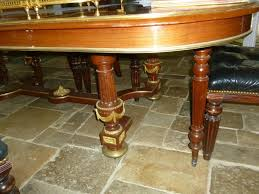 french louis xvi style mahogany dining table 19th century the