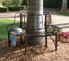 Circular Bench Around Tree Round Tree Bench