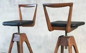 danish bar stools danish bar stool dark ash t h brown the danish bar stool