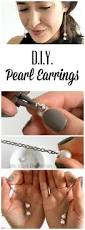 Online Jewelry Making Classes - diy pearl chain drop earrings online jewelry making class to
