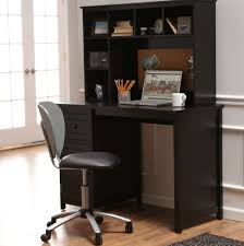 Home Computer Desks With Hutch Captivating Computer Desk With Hutch Black Beautiful Home Office