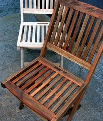 Refinishing Teak Patio Furniture Project Diy Renew Outdoor Teak Set U2014 Raechild