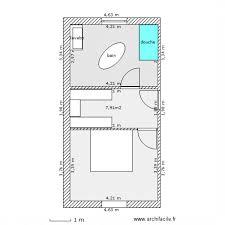 plan dressing chambre awesome plan chambre avec dressing et salle de bain 1 salle de