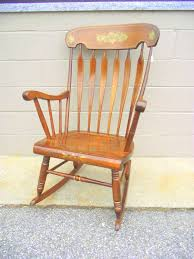 Nicaraguan Rocking Chairs S Bent Brothers Rocking Chair Hitchcock Style Arrowback