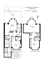 4 bed maisonette to rent in cottesmore gardens kensington london