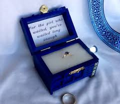 doctor who wedding ring the tardis engagement ring box for the girl who waited pic