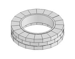 48 Fire Pit Ring by Grand Fire Ring Kit Necessories Kits For Outdoor Living