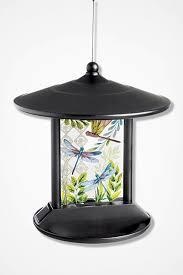 Large Solar Light by Delightful Dragonflies Solar Light Birdfeeder Coldwater Creek