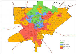 Austin Zipcode Map by Zip Code Map Atlanta Atlanta Area Zip Code Map United States Of