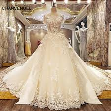 ivory wedding dresses ls33227 luxury wedding gown lace gown