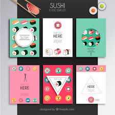 invitation flyer templates free sushi flyers template vector free download