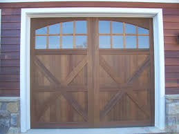 custom wood garage doors precise buildings