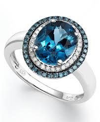 blue london rings images Blue rings jewelry images tif