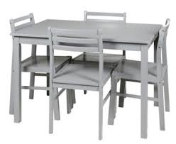 table et 4 chaises ensemble table chaises table 4 chaises detroit 2 gris par but
