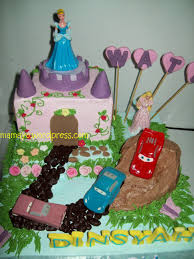 cara membuat hiasan kue ulang tahun anak kue ultah si kembar mamayo