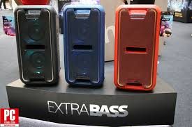 sony high powered bluetooth light up speaker gtk xb5 sony launches new extra bass audio range extends sound system