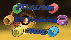 pixelmon ev training guide youtube