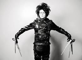 edward scissorhands costume edward scissorhands costume 4 steps