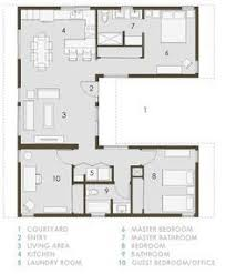 small house plans with courtyards u shaped house plans with courtyard pinteres