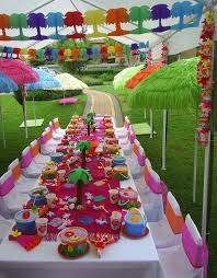 party ideas for kids kids luau party ideas from purpletrail tropical birthday
