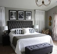 sherwin williams dorian gray master bedroom involving color