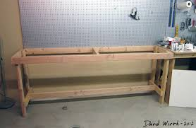 homemade woodworking bench with perfect inspiration in thailand