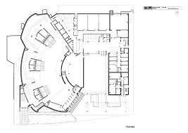 alvar aalto casa de cultura helsinki planos2 jpg 2480 1754