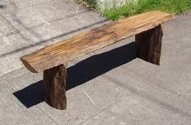 driftedge woodworking driftwood red oak bench 295 00