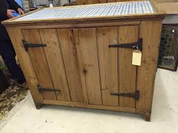 Free Standing Kitchen Furniture by A Victorian Pine Free Standing Kitchen Unit With Work Top Two