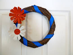 make it easy crafts patriotic k cup flower wreath going green and