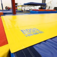 7 u2032 x 14 u2032 fig competition web trampoline bed ross athletic supply