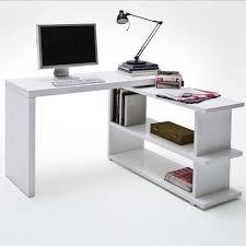 Schreibtisch Hochglanz Eckkombination Schreibtisch Dallas Hochglanz Weiß Schwenkbar