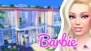 the barbie dreamhouse the sims 4 build youtube