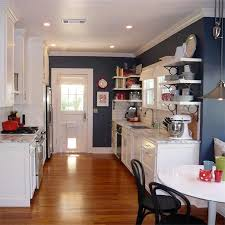 Blue And White Kitchen Ideas Kitchen Winsome Blue Kitchen Colors Navy Cabinets Dining Blue