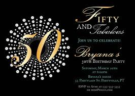 50th birthday invitations 50th birthday invitations for chic
