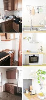 küche neu gestalten makeover küche verschönern vorher nachher teil 2 kitchens