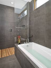 grey and white bathroom tile ideas best 25 room shower screens ideas on room