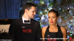 My Kitchen Rules Memes - my kitchen rules s zana isdances in wedding video with husband