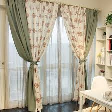 Country Style Curtains For Living Room by Free Shipping Linen Country Style Ikea Style Curtains For Living