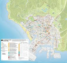 Gta 5 Map Widescreen Gaming Gta 5 1658 Map Transit System Los Santos Dvdbash