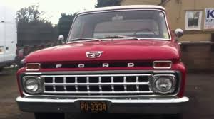 Vintage Ford F100 Truck Parts - 1965 ford f100 ranger custom cab pickup truck review youtube