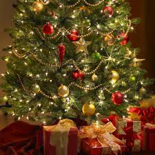 christmas decoratedstmas trees with ribbon decorating tree ideas