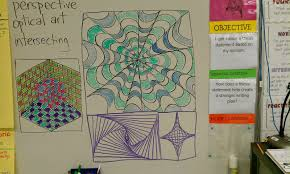 optical art designs in second grade finegan arts