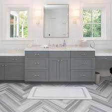 white marble bathroom ideas gray striped marble bathroom floor design ideas
