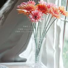 Buy Vases Online European Creative Glass Flower Set Simulation Floor Living Room